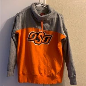 NWOT OSU orange and grey sweatshirt